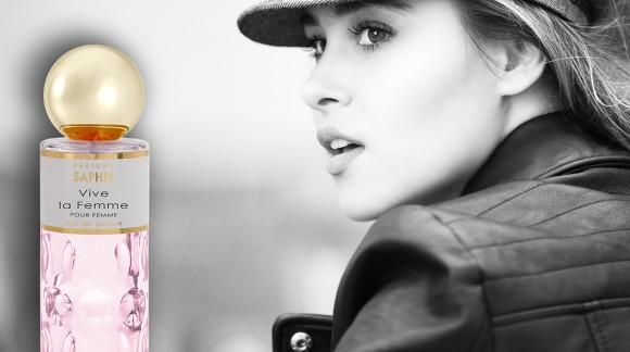 La nueva fragancia de Saphir Parfums – VIVE LA FEMME